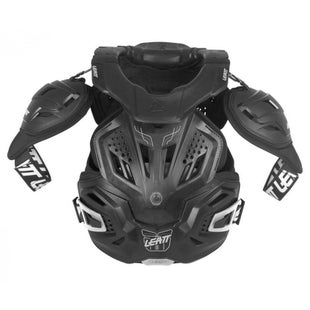 Leatt Fusion 30 Body Armour and Neck Brace Torso Protection - Black