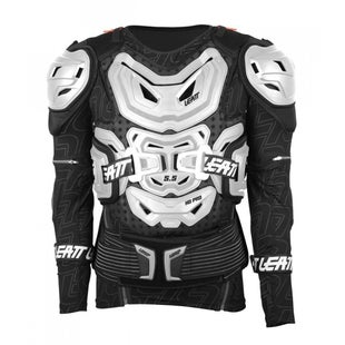 Leatt 55 Body Protection MX Motocross and Enduro Jacket Torso Protection - White