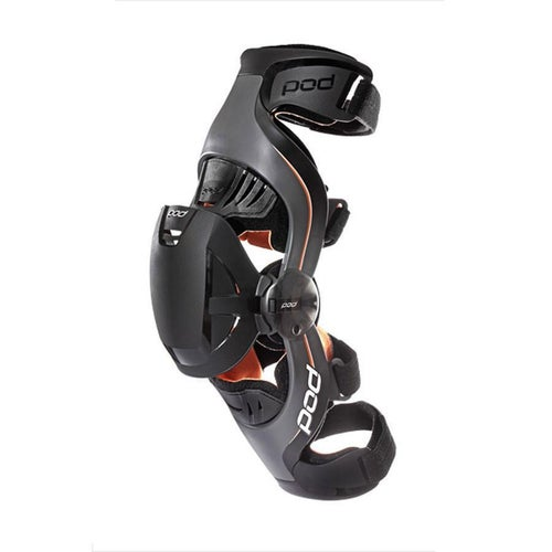 POD K1 Motocross Brace LEFT Knee Brace - Black