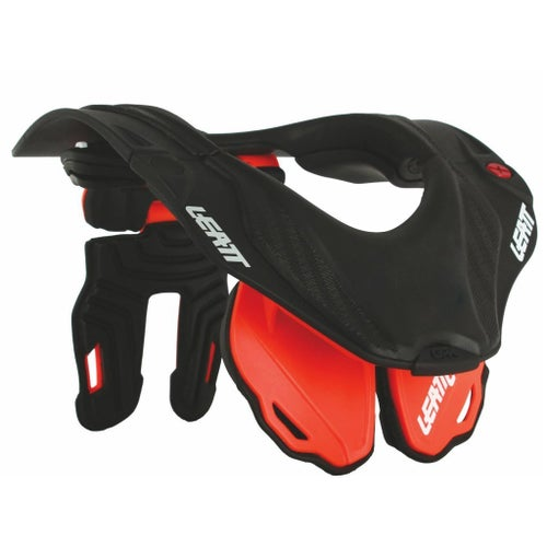 Leatt GPX 5.5 Neck Brace - Orange Black