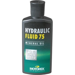 Motorex 75 100ml , Hydraulic Mineral Oil ~ Clutches - Clear