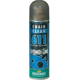 Motorex Chain Clean 500ml Chain Lube & Cleaning - Clear