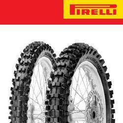 Pirelli R Scorpion MX Mid Soft 32 10R Enduro and Motocross Tyre - Black