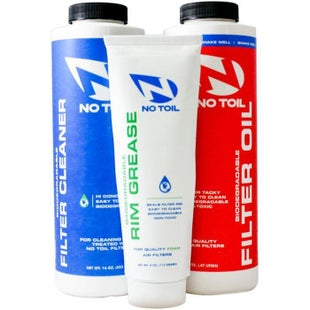 No Toil 3 Pack Air Filter Cleaner - Air Filter Cleaner, Oil and Rim Grease