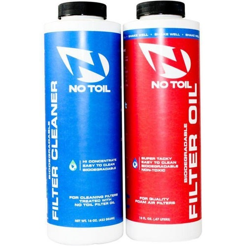 No Toil 2 Pack 16oz Air Filter Cleaner