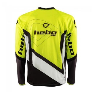 Hebo SHIRT PRO 18 LIME Motocross Jerseys - Lime