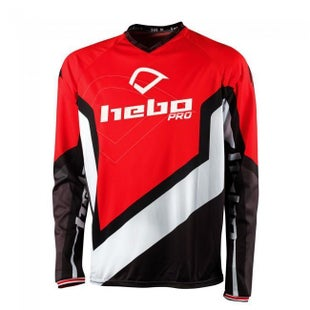 Hebo SHIRT PRO 18 RED MX-Jersey - Red
