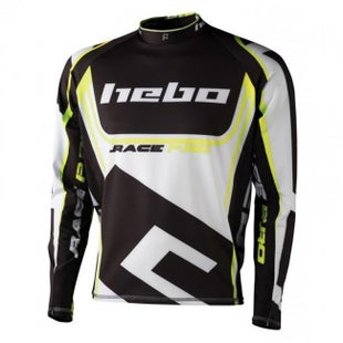 Hebo SHIRT RACE Motocross Jerseys - Yellow