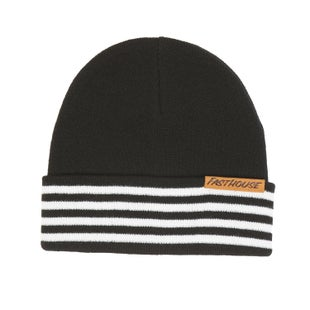 Fasthouse Four Stripe Beanie Black Beanie - Stripe Black