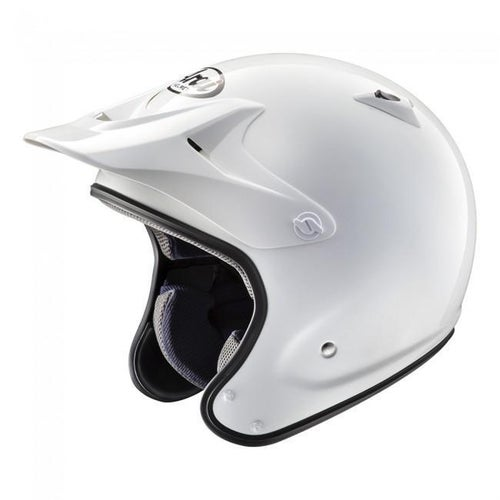 Arai PENTA Trials Helmet - PRO TRIAL WHITE(W OUT ROCKGUARD)