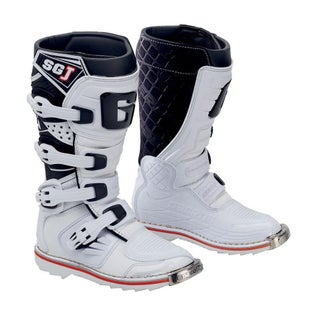 Bottes MX Gaerne Boots SGJ YOUTH - White