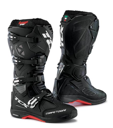 TCX Comp Evo 2 Michelin Motocross Boots - Black