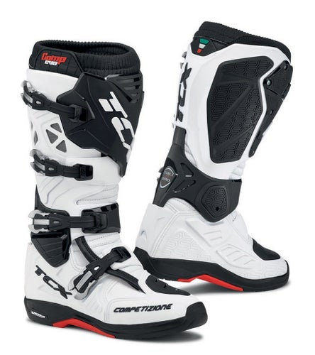 TCX Comp Evo 2 Michelin Motocross Boots - White
