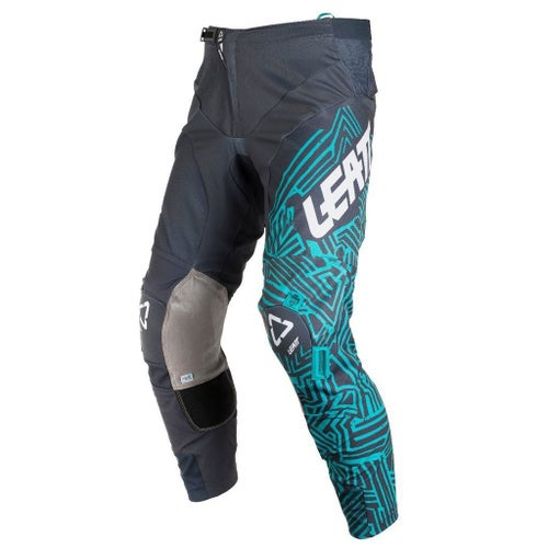 Spodnie MX Leatt GPX 5.5 - Grey Teal