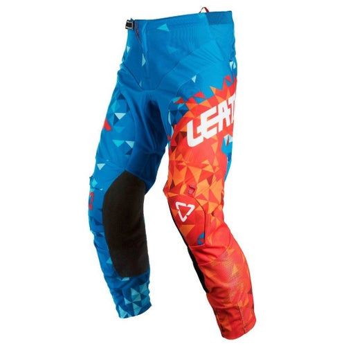 Spodnie MX Leatt GPX 4.5 - Blue Red