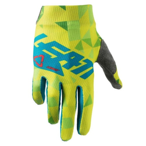 Leatt GPX 1.5 Motocross Gloves - Lime Teal