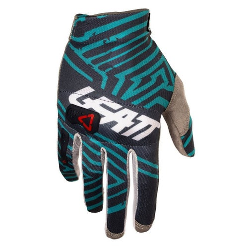 Leatt GPX 3.5 Lite Motocross Gloves - Grey Teal