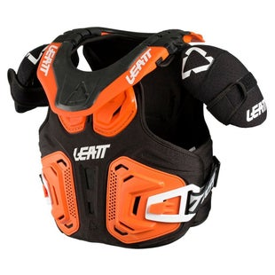 Leatt 2.0 Fusion MX Motocross and Enduro Vest Body Protection - Orange