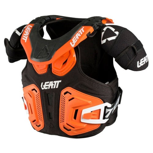 Leatt 2.0 Fusion Junior Motocross and Enduro Vest Boys Body Protection - Orange