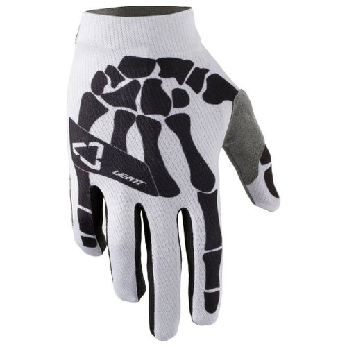 Leatt GPX 1.5 GripR Motocross Gloves - Bones