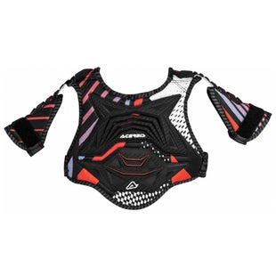 Acerbis YOUTH Cub 20 Chest Protector Boys Torso Protection - Black Red