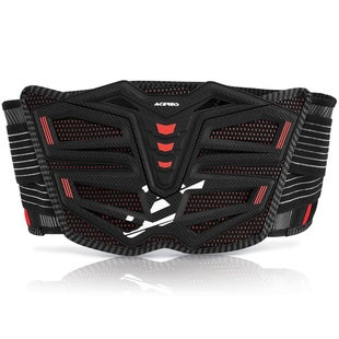 Acerbis MotoBrand 20 Motocross Belt Body Protection - Black Red