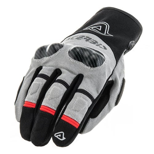Acerbis Adventure Dual Bike Gloves - Black Grey