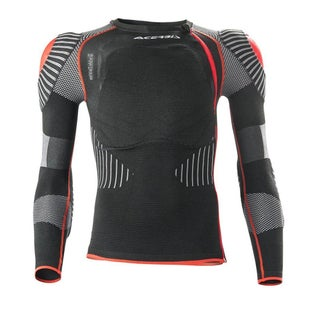 Acerbis XFit Pro YOUTH Body Armour Boys Torso Protection - Black