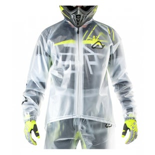 Acerbis Transparent 30 Rain Jacket - Clear