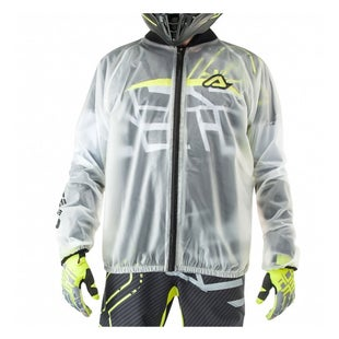 Acerbis Transparent Pro 30 Rain Jacket - Clear