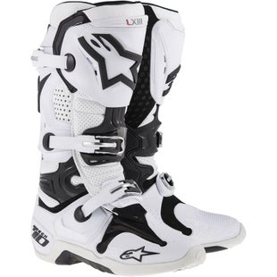 Alpinestars Tech 10 MX Motocross Boots - Super White