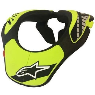 Alpinestars YOUTH Neck Support Boys Torso Protection - Black Yellow