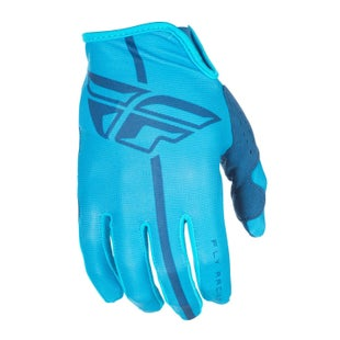 Fly Lite YOUTH Motocross Gloves - Blue Navy