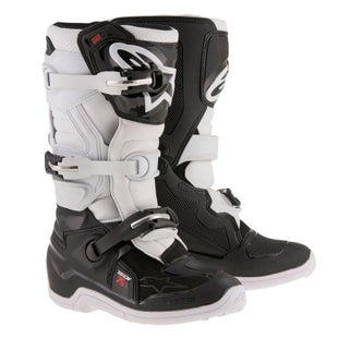 Alpinestars Kids Boots Tech 7S Youth Motocross Boots - Black White