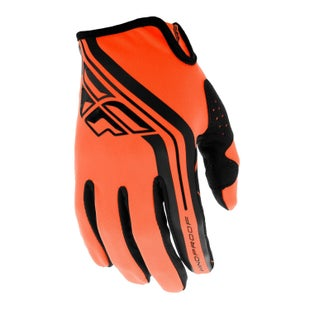 Fly Windproof Lite MX MX Glove - Orange Black
