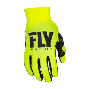 Fly Pro Lite MX Hi Motocross Gloves - Vis