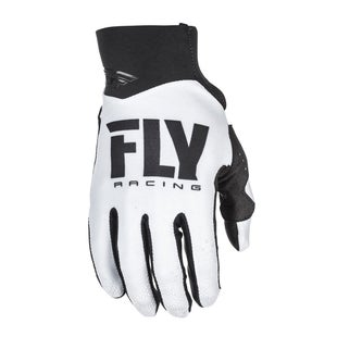Fly Pro Lite MX Motocross Gloves - White