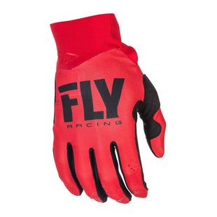 Fly Pro Lite MX Motocross Gloves - Red