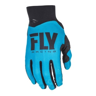 Fly Pro Lite MX Motocross Gloves - Blue