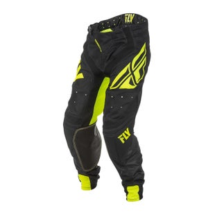 Fly Lite Hydrogen MX Black Hi Motocross Pants - Viz