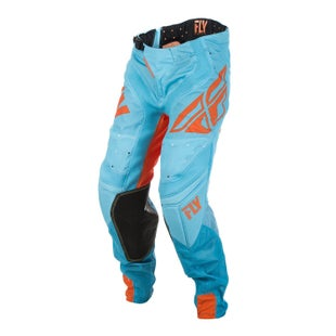 Fly Lite Hydrogen MX Motocross Pants - Orange Blue