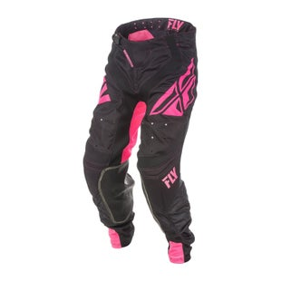 Fly Lite Hydrogen MX Motocross Pants - Pink Black