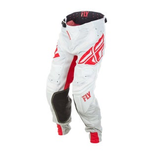 Fly Lite Hydrogen MX Motocross Pants - Red Grey