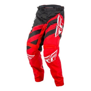 Fly F16 YOUTH Motocross Pants - Red Black