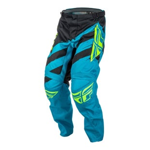 Fly F16 YOUTH Motocross Pants - Blue Black