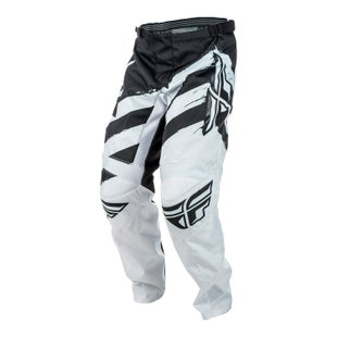 Fly F16 YOUTH Motocross Pants - Grey Black