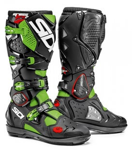 Buty MX Sidi Crossfire 2 SRS - Flou Green Black