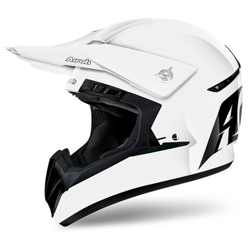 Kask MX Airoh Switch - Gloss White