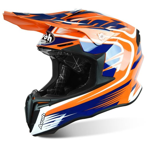 Airoh Twist Motocross Helmet - Mix Orange