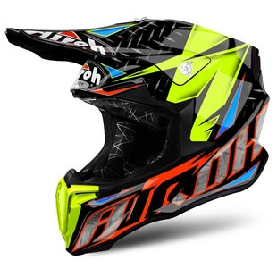 Airoh Twist Motocross Helmet - Iron Orange
